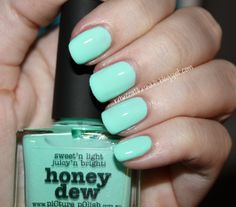 Picture Polish - Honey Dew #nails, #fashion, https://facebook.com/apps/application.php?id=106186096099420