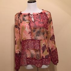 Printed Blouse Top Print Blouse Material Polyester no ️️ no Trades Tops Blouses