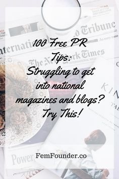 To help make it easier for you, I've put together this shortlist of the best 100 PR tips you can use to start building brand awareness now FREE.