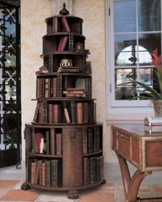 Ernest Hemingway Shakespeare and Company Revolving Bookcase