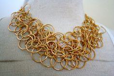 Infinity Necklace by stylebandit on Etsy, $28.00