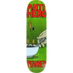 Anti Hero Skateboards Chris Pfanner Roaches skateboard deck - now at Warehouse Skateboards! #skateboards #whskate