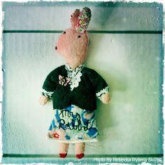Miss Piggy made by Julie Arkell