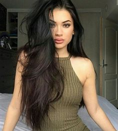 Imagem de girl, hair, and makeup