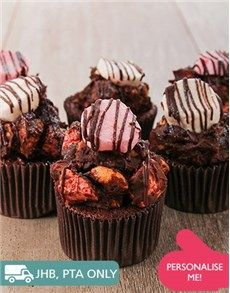 Birthday Gifts and Flowers for Her: Rocky Road Cupcakes!