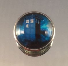 A personal favorite from my Etsy shop https://www.etsy.com/listing/222451549/dr-who-tardis-snap-chunk-bead-glass-18mm