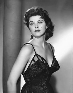 Tina Louise, way before she went on that three-hour cruise to Gilligan's Island.