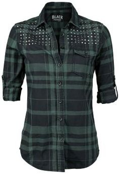 Checkshirt - Blouse by Black Premium by EMP