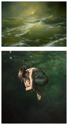 drowning..