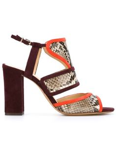 Shop Alexandre Birman chunky heel sandals in Excelsior Milano from the world's best independent boutiques at farfetch.com. Shop 300 boutiques at one address.