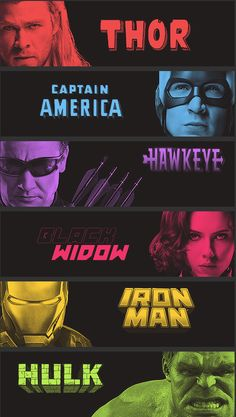 The Avengers- earths mightiest heroes