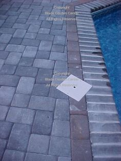 Bullnose Brick Coping The Existing Pool Coping Bullnose