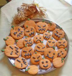 Sütőtök keksz - Tök egyszerű Halloween süti