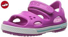 crocs Crocband Clog Kids, Unisex-Kinder Clogs, Violett (Vibrant Violet), 20/21 EU