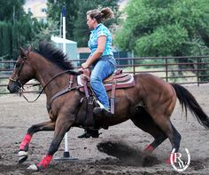 We're proud to support Nikki Egyed and OTTB Casanova on their journey to compete at the Ultimate X Showdown barrel race. Casanova is wearing a set of The Classic Real Deal Legacy boots.