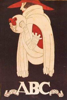 ABC: Revista Portugueza magazine cover by Jorge Barradas,1920