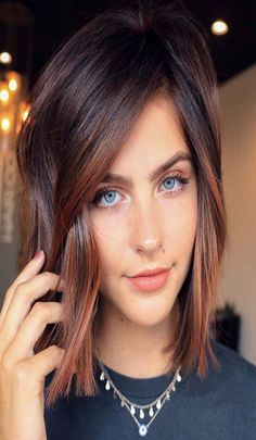 Top 10 Current Hair Color Trends for Women - Hair - Hair Designs Hair Color And Cut, Ombre Hair Color, Hair Color Balayage, Cool Hair Color, Brown Hair Colors, Auburn Balayage, Hair Colour, Fall Hair Colors, Short Hair Colors