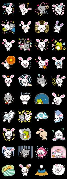 This is Part Two in the series from the wildly popular children's show, Mofy. You'll laugh and cry along with these adorably expressive stickers! Cartoon Images, Cartoon Drawings, Cute Drawings, Kawaii Faces, Kawaii Cute, Emoji Stickers, Cute Stickers, Cartoon Painting, Soft Heart