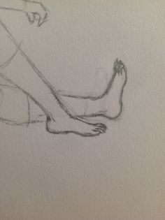 Feet that I actually drew