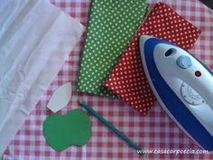Como usar papel termocolante - Moldes e Paps: Como usar papel termocolante