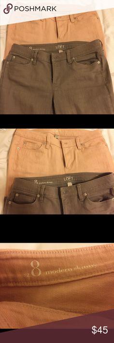 Loft jeans set women's size 8 Loft color jeans set Women's size 8 Modern skinny In good condition Looks new LOFT Jeans Skinny