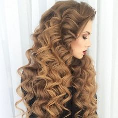 Newest obsession!! Loving these tight princess curls! Who else is infatuated with goddess like curls