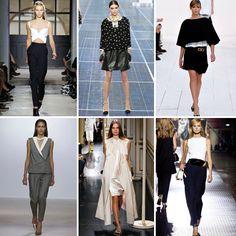 SS 2013 Paris Fashion week trends, SS 2013 monochrom trends | The Urban List