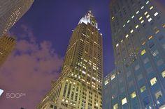 NYC at night - long exposure, NYC night-cap Nyc At Night, Long Exposure, Empire State Building, Skyscraper, Cap, Travel, Baseball Hat, Skyscrapers, Viajes