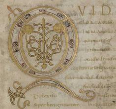 Trésor de la Cathédrale: ms.12 'Psautier du Comte Henri'.  A carolingian manuscript from before AD 850