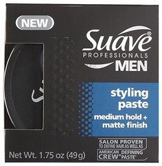 Suave Professionals Styling Paste - Medium Hold   Matte Finish - 1.75 oz - 2 pk * Check out the image by visiting the link.
