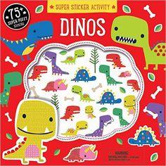 Super Sticker Activity: Dinos: Dawn Machell: 9781626866492: Amazon.com: Books