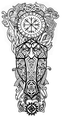 Sleeve Tattoos for Women Best Tattoo Sleeve Ideas For Women Fantastic Half and Full Sleeve Tattoos for Women images Ideas Designs for Girls 2019 2020 Viking Tattoo Sleeve, Viking Tattoo Symbol, Norse Tattoo, Viking Tattoo Design, Full Sleeve Tattoos, Celtic Tattoos, Tattoo Sleeve Designs, 3d Tattoos, Tribal Tattoos