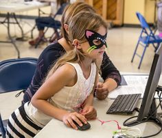 """The Girl Factor: Creative Code and Computer Programming"": Programming is not just for boys, and Science Buddies' computer programming resources are carefully developed to engage both boys and girls.  [Source: Science Buddies, http://www.sciencebuddies.org/blog/2015/12/the-girl-factor-creative-code-and-computer-programming.php?from=Pinterest] #STEM #scienceproject #code #compsci"