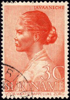 1940 Suriname leper relief