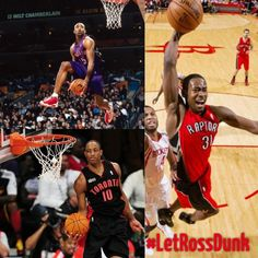 Toronto has produced some of the greatest dunkers!!!! Terrance Ross is the next one #LetRossDunk