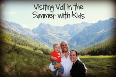 Colorado in the summer is pure magic. Here are our favorite things to do in and around Vail, Colorado with kids. #familytravel