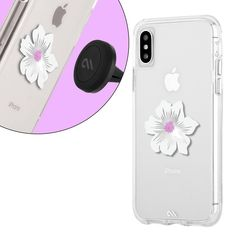 Case-Mate Car Vent Mount (with Magnetic Sticker) - Silver Flower Ipad Mini Cases, Stickers Online, Silver Flowers, Apple Products, Adhesive, Magnets, Phone Cases, Iphone, Car