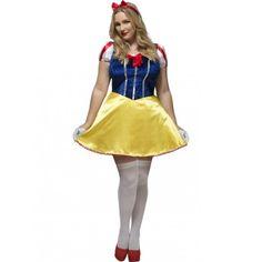 #Disfraz de #Blancanieves #Disney Sexy para mujer especial Tallas Grandes