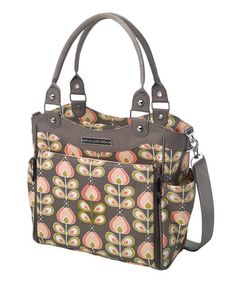 Take a look at this Oslo-in-Bloom City Carryall Diaper Bag by Petunia Pickle Bottom on #zulily today!