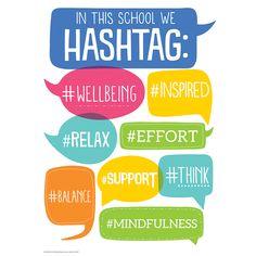 Hashtag Classroom Poster | Eureka School