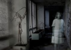 ghosts in hospitals | hospital patient haunts the corridors of the hospital at night looking ...