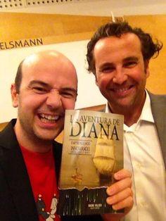 Momento celebrity de La Aventura de Diana , con este genio de la creatividad que es Jandro. Gracias!!! Con tripulantes como el a bordo esta aventura va ser divertida!!!