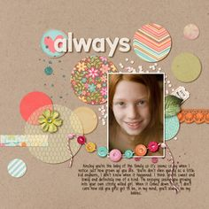 Scrapbooking tips, scrapbooking layouts ideas and much more from the online home for Creating Keepsakes magazine. Learn how to make gorgeous scrapbook pages and connect with other scrapbookers. Baby Girl Scrapbook, Kids Scrapbook, Scrapbook Paper Crafts, Album Scrapbook, Scrapbook Layout Sketches, Scrapbooking Layouts, Creating Keepsakes, Scrapbooks, Cardmaking
