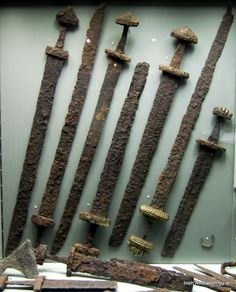 Viking swords found in Kilmainham, Dublin