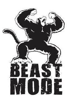 Metal Poster Beast Mode Ozaru