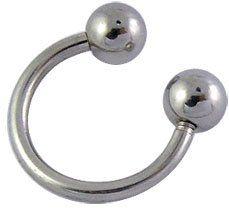 Piercing, Bathroom Hooks, Horse Shoes, Steel, Schmuck, Piercings, Piercing Ideas