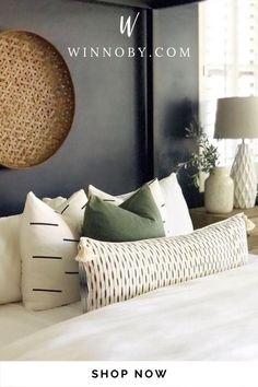 Charcoal Bedroom, Sage Bedroom, Green Master Bedroom, Guest Bedroom Decor, Bedding Master Bedroom, Guest Bedrooms, Green Bedroom Design, Bedroom Design Inspiration, Bedroom Ideas