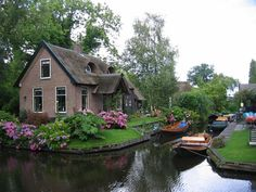 This Magnificent Village Will Take Your Breath Away - Giethoom in Dutch province of Overijssel