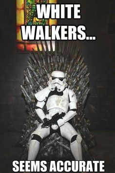 White Walkers  Check out more funny pics at killthehydra.com