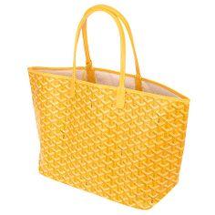 for summer!!  Goyard Saint Louis Tote Yellow